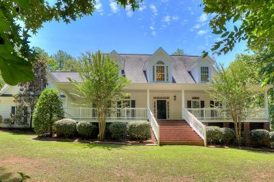 Appling Single Family Home For Sale: 5350 White Oak Road