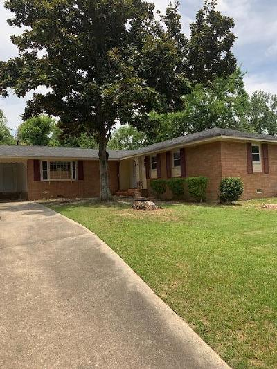 Augusta Single Family Home For Sale: 525 Henderson Drive