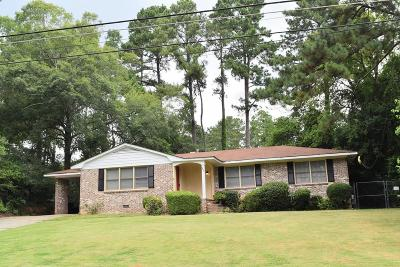 Augusta GA Single Family Home For Sale: $189,997