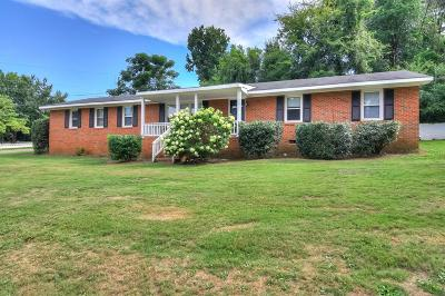 Augusta Single Family Home For Sale: 1023 Azalea Drive
