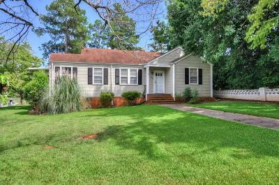 Augusta Single Family Home For Sale: 1026 Azalea Drive