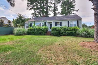 Augusta Single Family Home For Sale: 1027 Magnolia Drive