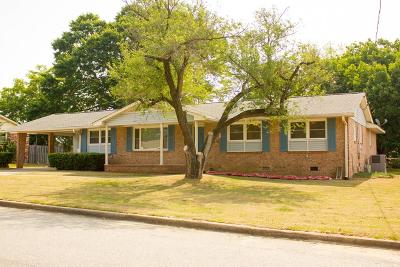 North Augusta Single Family Home For Sale: 607 Ashley Circle