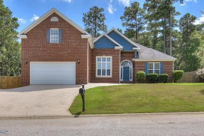 Evans Single Family Home For Sale: 804 Leslie Court