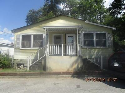 Augusta GA Single Family Home For Sale: $49,900