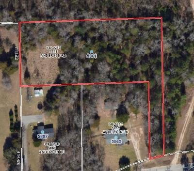 Residential Lots & Land For Sale: 5861 Anderson Road