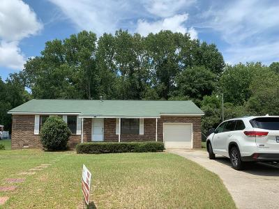 Grovetown Single Family Home For Sale: 908 Sycamore Drive