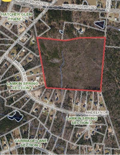 Harlem Residential Lots & Land For Sale: Wrightsboro Road