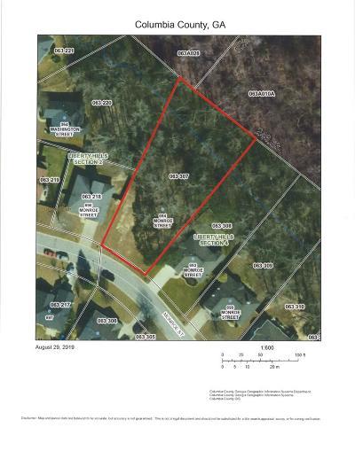 Grovetown Residential Lots & Land For Sale: 694 Monroe Street