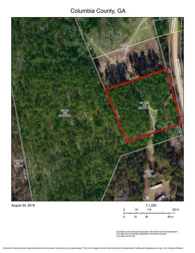 Grovetown Residential Lots & Land For Sale: 512 Hardy Drive
