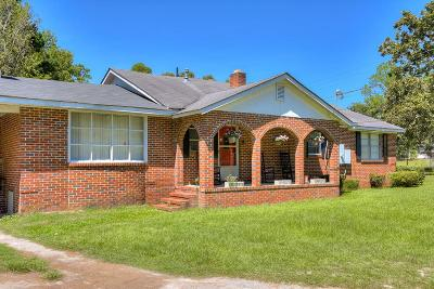 Augusta Single Family Home For Sale: 3384 Lewis Road