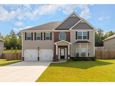 Grovetown Single Family Home For Sale: 5014 Vine Lane