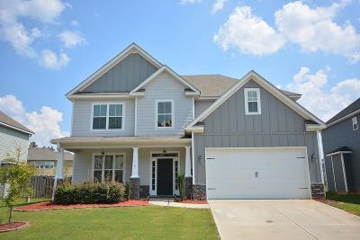 Grovetown Single Family Home For Sale: 116 Claridge Drive