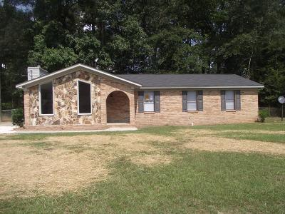 Augusta Single Family Home For Sale: 2223 Winston Way