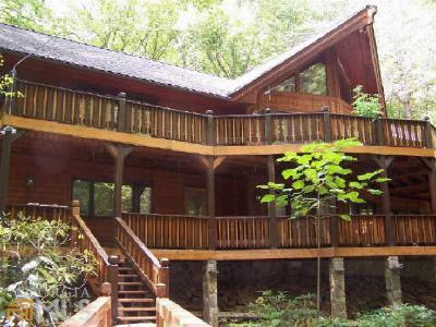 Rabun County Single Family Home For Sale: 430 Covered Bridge