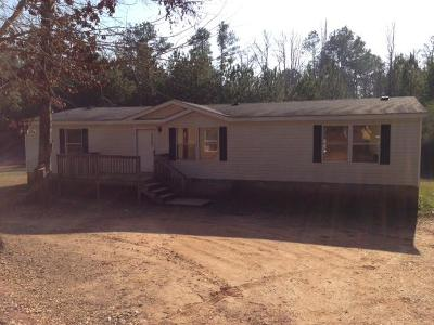 Heard County Single Family Home Lease/Purchase: 156 Buttrell Harper