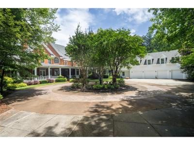 Acworth Single Family Home For Sale: 1836 County Line Rd