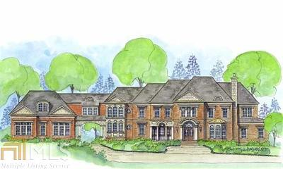 Roswell, Sandy Springs Single Family Home For Sale: 4030 Heatherwood Way