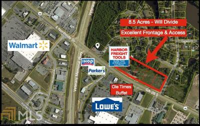 Statesboro Residential Lots & Land For Sale: Highway 80 E
