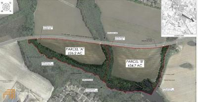 Statesboro Residential Lots & Land For Sale: 26 S And S Railroad Bed Rd #PAR-A 26