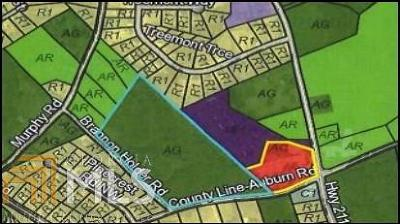Winder Residential Lots & Land For Sale: 754 County Line Auburn Rd #2.0 Acre