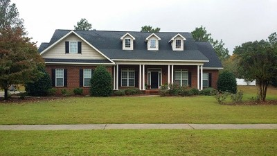 Statesboro Single Family Home For Sale: 3104 Hawks Ct