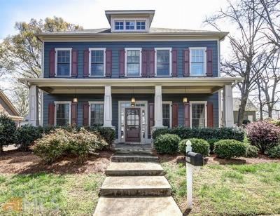 College Park Single Family Home Under Contract: 1520 Vassar St