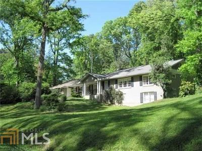 Buckhead Single Family Home Under Contract: 1291 W Wesley Rd