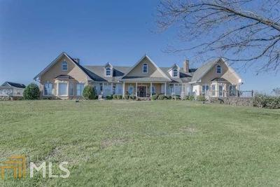 Bartow County, Cherokee County, Coweta County, Dawson County, Fannin County, Fayette County, Forsyth County, Fulton County, Gilmer County, Hall County, Pickens County, Rockdale County, Walton County Single Family Home For Sale: 1904 Philadelphia Rd #66 Acres
