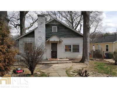 Fulton County Single Family Home For Sale: 369 Lanier St