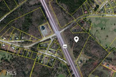 Banks County Commercial For Sale: Webbs Creek Rd