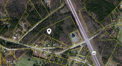 Banks County Commercial For Sale: Historic Homer Hwy