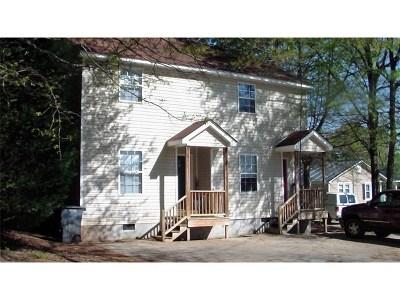 Barnesville Multi Family Home For Sale: 102 Moye St
