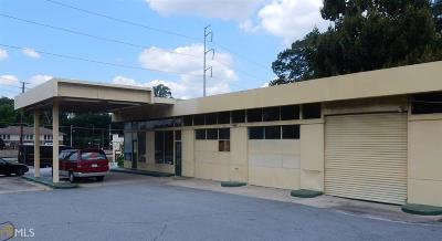 Decatur Commercial Under Contract: 100 E Lake Dr