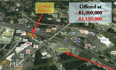 Conyers Residential Lots & Land For Sale: 1141 Old Salem Rd