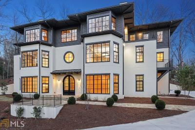 Buckhead Single Family Home For Sale: 3829 Beechwood