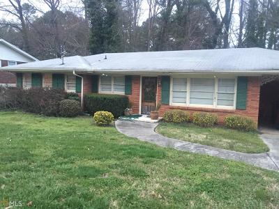 Fulton County Single Family Home For Sale: 3537 Ingledale Dr