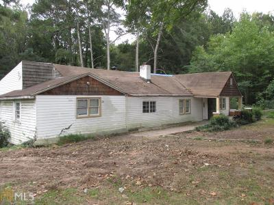 Fulton County Single Family Home For Sale: 785 Gary Rd