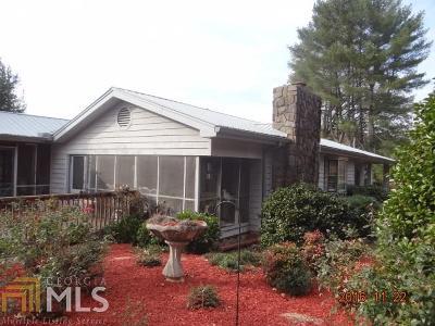 Clarkesville Single Family Home For Sale: 805 Hills Crossing Rd