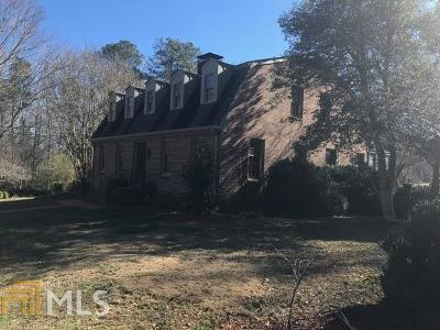 Griffin Single Family Home For Sale: 918 County Line Rd
