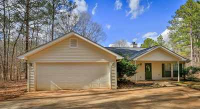 Buckhead, Eatonton, Milledgeville Single Family Home For Sale: 383 E River Bend Dr