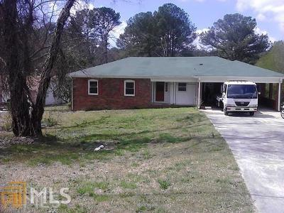 Clayton County Single Family Home For Sale: 6669 Walker Rd