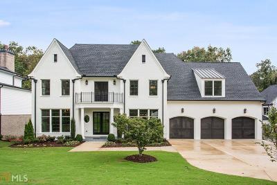 Buckhead Single Family Home For Sale: 4007 Whittington Dr