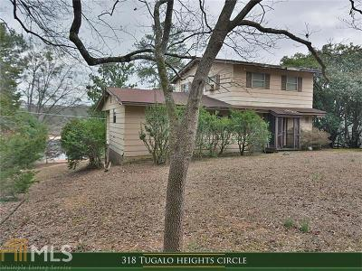 Elbert County, Franklin County, Hart County Single Family Home For Sale: 318 Tugalo Heights Cir