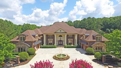 Alpharetta, Milton, Roswell Single Family Home For Sale: 15975 Manor Club Dr