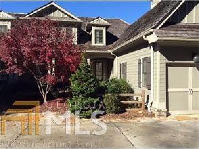 Dahlonega Condo/Townhouse For Sale: 525 Birch River Dr