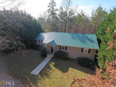Elbert County, Franklin County, Hart County Single Family Home For Sale: 160 Hugh Dorsey Rd