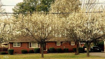Elbert County, Franklin County, Hart County Single Family Home For Sale: 165 E Franklin St
