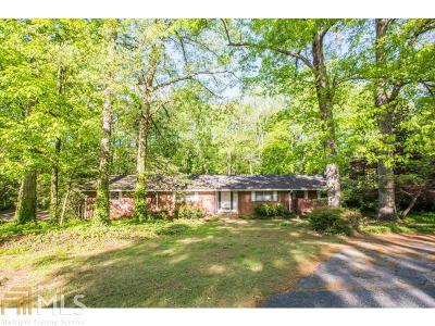 Buckhead Single Family Home For Sale: 3036 Slaton Dr