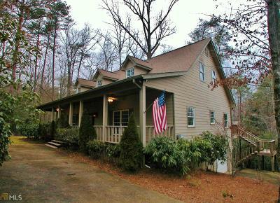 Clayton, Clarkesville, Tiger Single Family Home For Sale: 2562 Burton Dam Rd